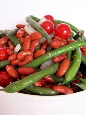 Sweet Bean and Tomato Salad