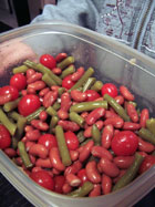 Sweet Bean and Tomato Salad prep 3