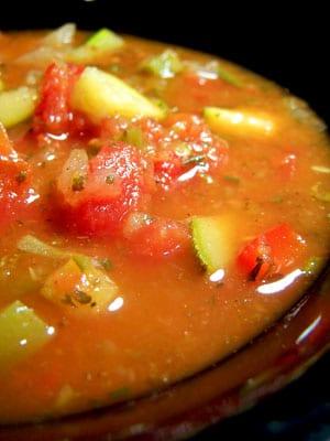 Tortilla-Less Tortilla Soup