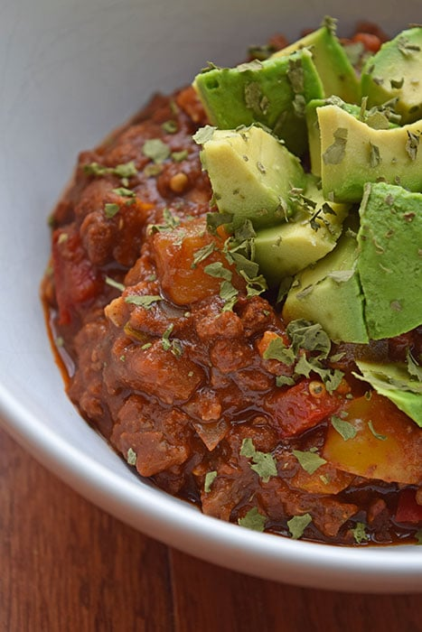 My Whole30 Go-To Chili