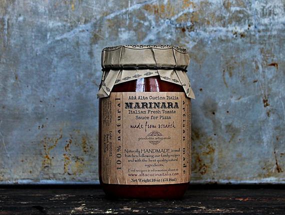 Marinara Tomate Sauce Pizza Sauce | Etsy