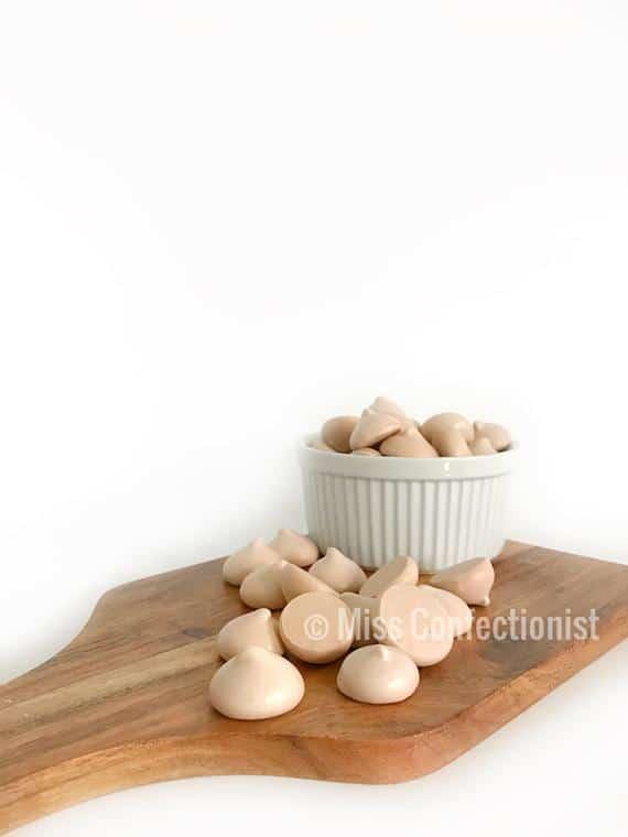 Chocolate Meringue Cookies Kisses Wedding Favor Baby | Etsy