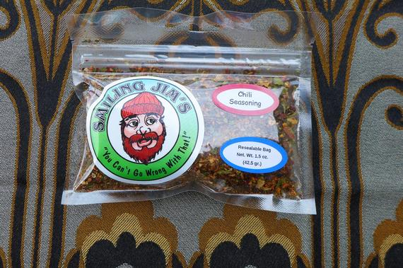 Smiling Jim's Famous Chili Seasoning Mix Organic Spices | Etsy