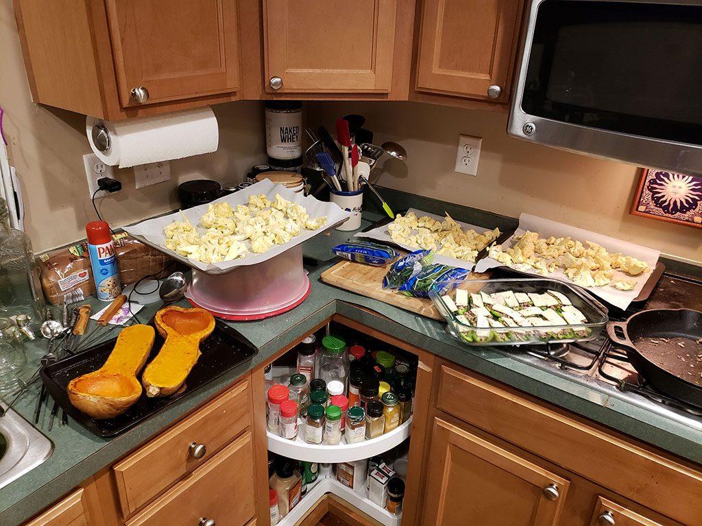 My Messy Kitchen