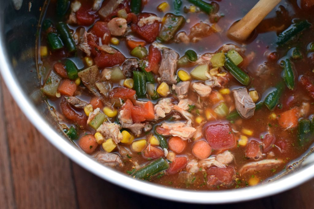 Maryland-ish Crab Soup