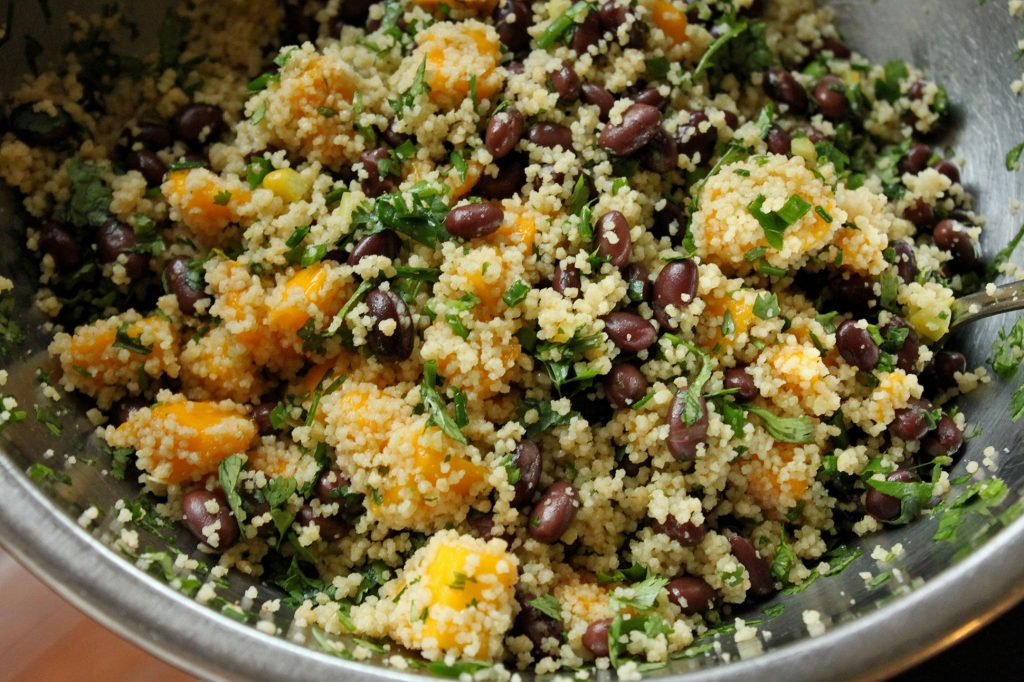 Mango, Black Bean and Couscous Salad