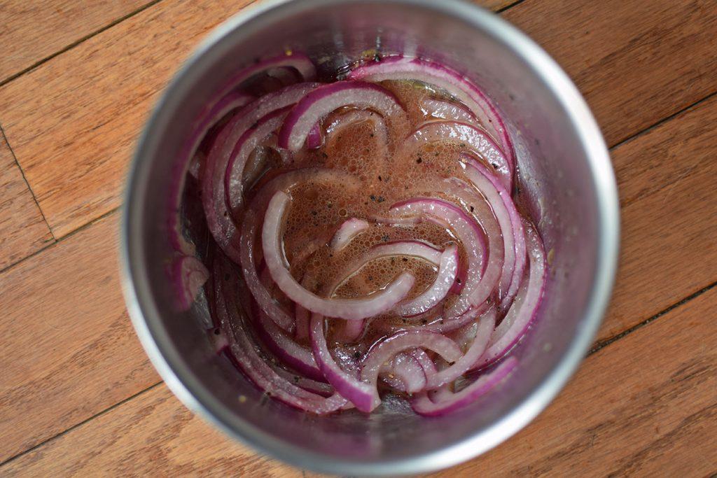 onion pickling
