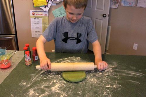 Less-Sugar Sugar Cookies - Let the kids help!
