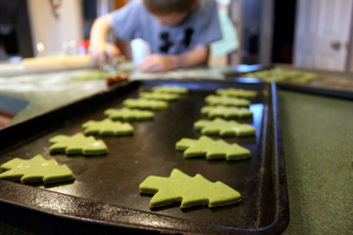 Less-Sugar Sugar Cookies - Cut outs