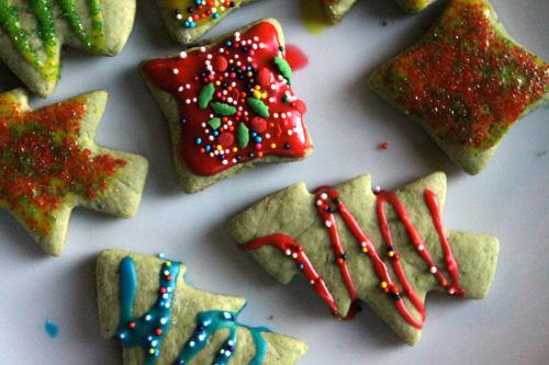 Less-Sugar Sugar Cookies close up
