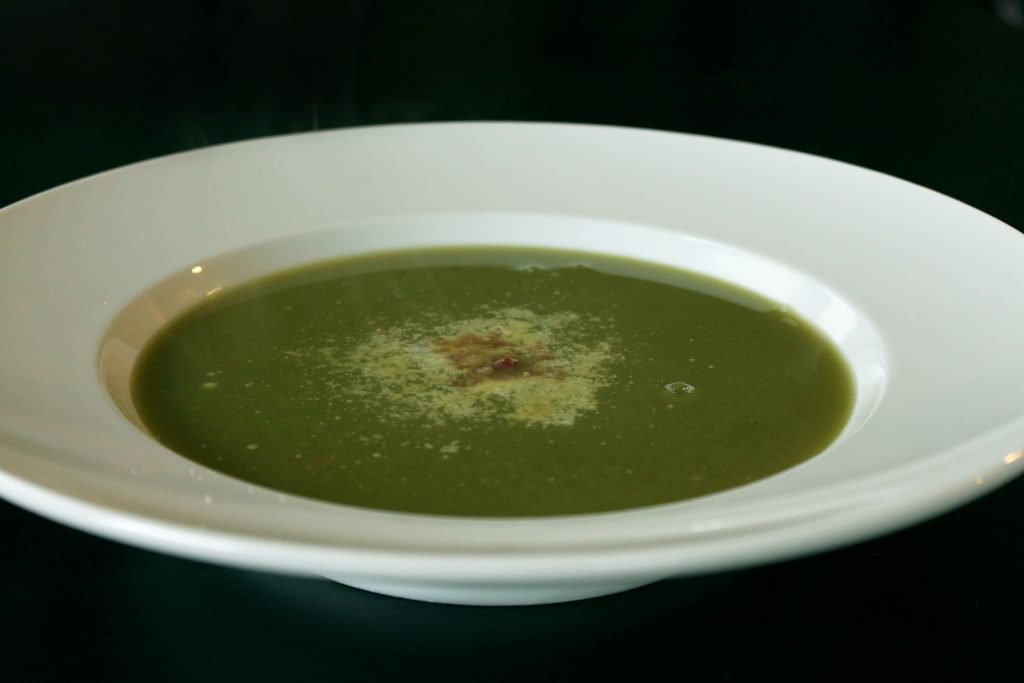 Asparagus Soup: Don't Throw Away the Ends!