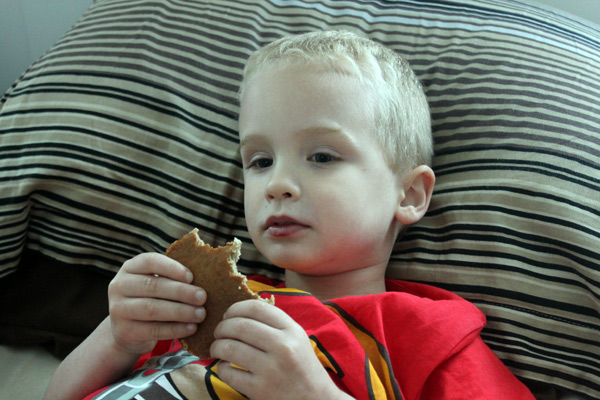 The How-Many-Healthy-Things-Can-I-Get-Into-a-Pancake Pancakes - the second toddler