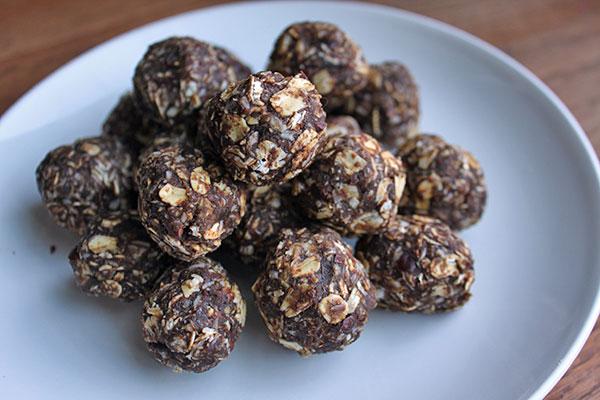 Chocolate-Coconut Energy Balls