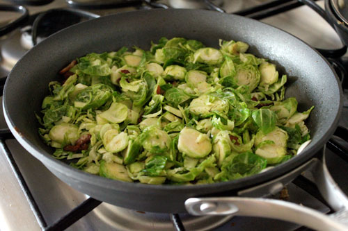 Warm Brussels Sprout and Couscous Salad - step 3