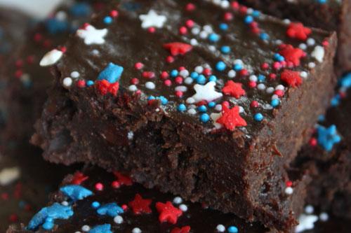 The Black Bean Brownie top