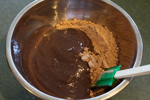 The Black Bean Brownie - the batter