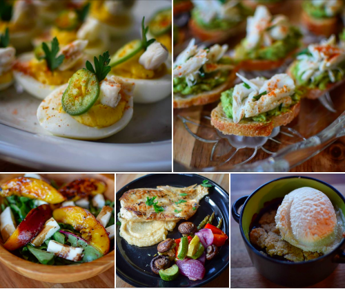 Summer Seafood Dinner Party Menu